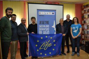 """5 pano Spoljna prostorija WWF i Jesetra centar 300x200 - Otvorena virtuelna izložba """"Jesetre - migratorno blago Dunava"""""""