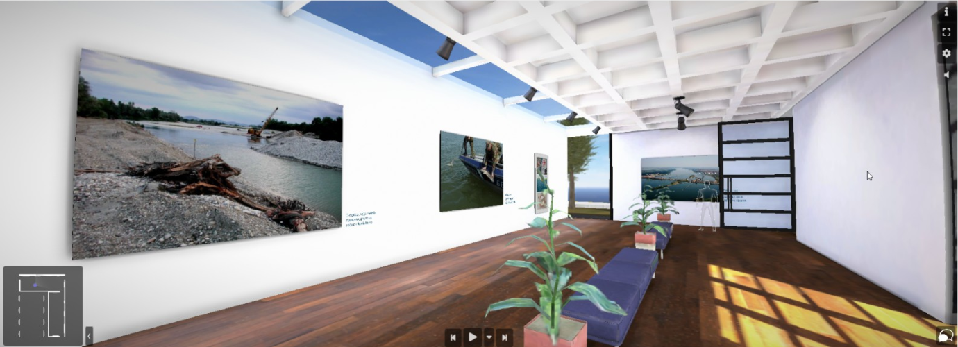 """Otvorena virtuelna izložba """"Jesetre – migratorno blago Dunava"""""""